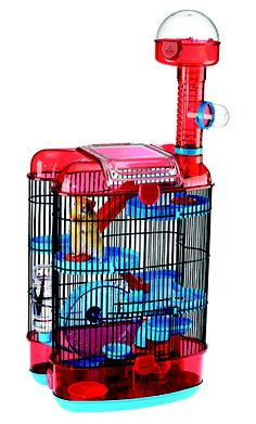 Hamster Multi level Palace!