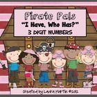 """Pirate Pals $2 """"I have who has"""" 3 digit numbers"""