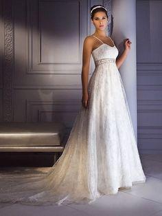 a3fbee0630 Esküvői empire stílusú fotók csipke esküvői ruhák, frizurák és  Lakberendezés (Empire)