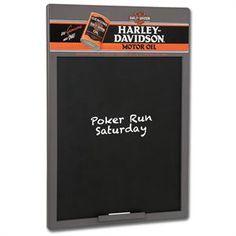 Harley-Davidson® Oil Can Chalkboard HDL-15103