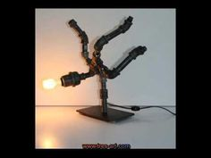 Pipes lamps - Steampunk Art