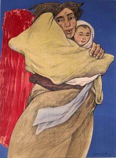 Madonna of the Slums - Vicente Manansala   *Livestock Art ...
