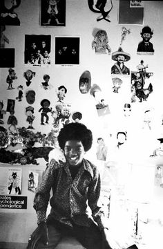 I love youuu! Michael Jackson - Cuteness in black and white ღ  by ⊰@carlamartinsmj⊱