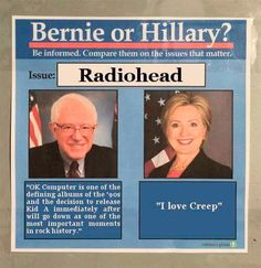 The Hillary Vs. Bernie memes show how sexist the Democratic primary campaign is. Dankest Memes, Funny Memes, Jokes, Hilarious, It's Funny, Funny Shit, Ok Computer, Hey Bro, Out Of Touch