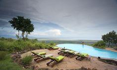 Infinity pool at Lake Manyara Serena Lodge, Tanzania