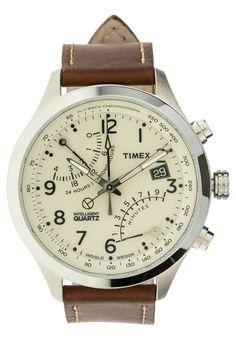 Timex - T2N932 - Kronografklockor - brun