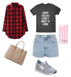 """Geen titel #4"" by xoirisjeexo on Polyvore featuring mode, Topshop, MANGO, New Balance en Victoria's Secret"