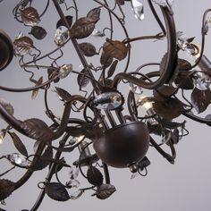Candelabro PIOMBINO 8 óxido #interiorismo #decoracion #luz
