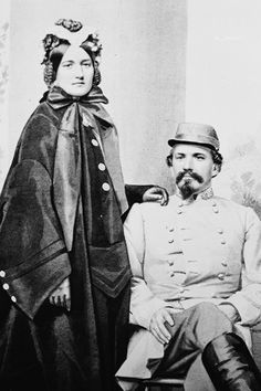 Civil War Photo CSA Confederate General John Hunt Morgan Wife |