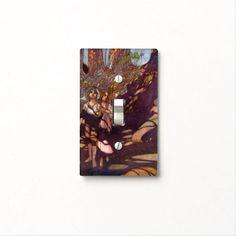 """""""Hansel & Gretel"""" Fairytale - Light Switch Cover"""
