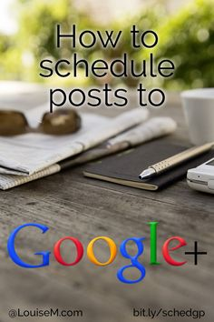 Want to schedule posts on Google Plus? GooglePlus hasn't seemed eager to allow scheduling on personal profiles. Check out this browser extension - it's a great solution! Click to read post --> http://louisem.com/5633/schedule-posts-on-google-plus