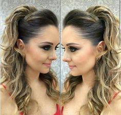 Faciles Para Fiesta 2015 Peinados Curly Hair Styles Hair Styles