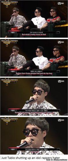 Tablo tellin it as it is~ | allkpop Meme Center