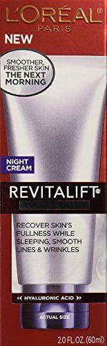 L'Oreal Revitalift Volume Filler Night Cream, 2.0 Fl Oz (Pack of 2) * Read more  at the image link.