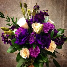 Purple Bride. By, Graciel. www.instagram.com/thesoulinbloom Purple And Green Wedding, Purple Wedding Flowers, Floral Wedding, December Wedding Colors, Wedding Details, Wedding Ideas, Beautiful Bouquets, Bride Bouquets, Plum