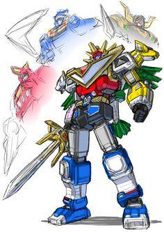 Power Rangers Lost Galaxy, Power Rangers Fan Art, Power Rangers Megazord, Power Rengers, Hq Dc, Japanese Superheroes, Mecha Anime, Kamen Rider, Super Powers