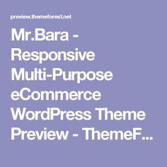 Mr.Bara - Responsive Multi-Purpose eCommerce WordPress Theme Preview - ThemeForest