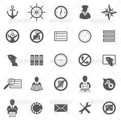 Business Gray Icon Set Vector set of business icons, symbols and pictograms Created: GraphicsFilesIncluded: VectorEPS Layered: No MinimumAdobeCSVersion: CS Tags: anchor