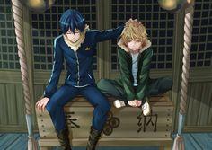 Noragami (Yato and Yukine) Anime Manga, Anime Guys, Anime Art, Hot Anime, Yukine Noragami, Manhwa, Theme Anime, The Darkness, Fanart