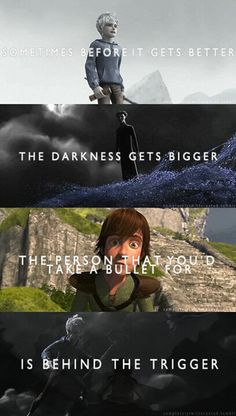 New fanfic idea where Hiccup becomes Pitch and Jack must overcome his pain and stop him!