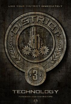 District 3 Seal #hunger #games