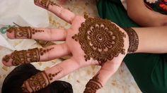 Henna Painting at Desert Safari Camp