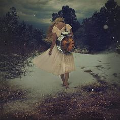 "by Brooke Shaden Photography ""the gift of time"""