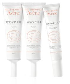 The Retrinal HAF Range  Retin-a solution for those with more sensitve or intolerant skin -  Great substitute for the summer....  :-)   NEVER say you are allergic to Retin-a........