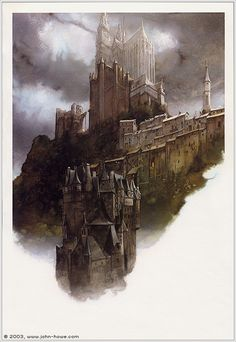 John Howe - The Cathedral - Cathedral - 1987