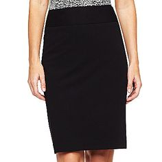 jcp | Liz Claiborne® Essential Pencil Skirt - Tall