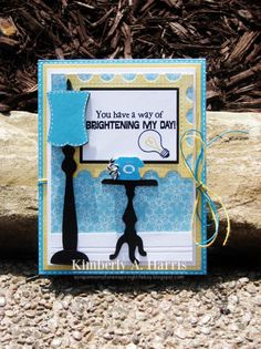 Obsessed with Scrapbooking: You Have A Way of Brightening My Day!