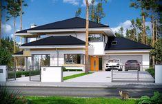 Dom z widokiem 2 Luxury House Plans, Design Case, My Dream Home, Dream Homes, Modern House Design, Home Fashion, Architecture, Luxury Homes, My House