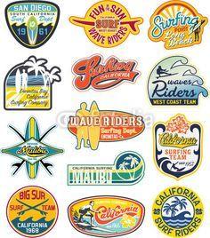 80's surf logos - Google Search