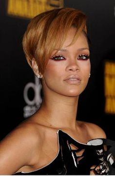 Top 99 Short Hairstyles For Black Women #ShortHairstyles #Hairstyles #Rihanna