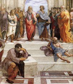Escola de Atenas - Raffaello