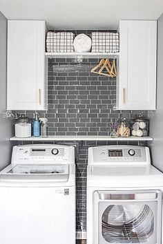 Lydi Out Loud shares how she used Champagne Bronze drawer pulls to help transform her laundry room. Cabinet Decor, Cabinet Knobs, Cabinet Hardware, Laundry Room Organization, Laundry Rooms, Organizing, Home Projects, Home Remodeling, Project Ideas