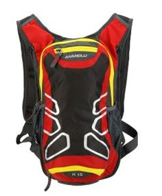 Water Resistant Hydration Backpack - Red