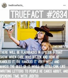 This episode broke me. Walking Dead Facts, Walking Dead Tv Show, Walking Dead Zombies, Fear The Walking Dead, Dead Pictures, Funny Pictures, Carl Grimes, Judith Grimes, Funny Facts