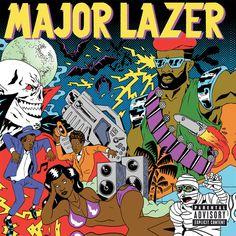 """""""Pon De Floor"""" by Major Lazer Vybz Kartel was added to my Starred playlist on Spotify"""