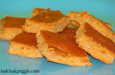 """""""Brownies"""" for Dogs: Salmon and Sweet Potato Dog Treat Recipe"""