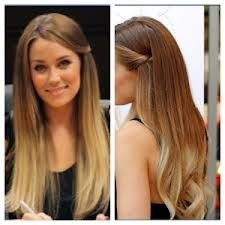 Somewhat obsessed with ombre hair. I'm scared that I can't pull it off though, lol...