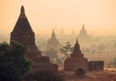 Bagan, Burma (Myanmar) – Known as the city of four million pagodas