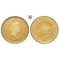 Australien, Elizabeth II., 5 Dollars seit 1986, 1,57 g fein, st: Elizabeth II. seit 1952. 5 Dollars 1,57 g fein, seit 1986.… #coins