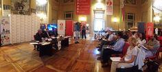 Domenica 13 settembre Torino sarà invasa da 30 cori, per un totale di 700 coristi, che si esibiranno in un evento sui generis, la Turin Choral Marathon organizzata dall'Associazione Cori Piemontesi con l'Assessorato allo Sport di Torino, nell'ambito di Tor... © ANSA