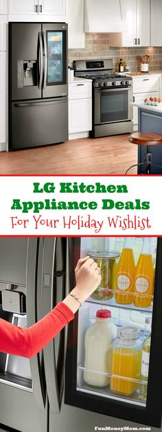 It's always fun to get new kitchen appliances, right? If you have new appliances on your holiday wishlist, you're going to want to check out these awesome LG kitchen appliance deals. via @funmoneymom #ad