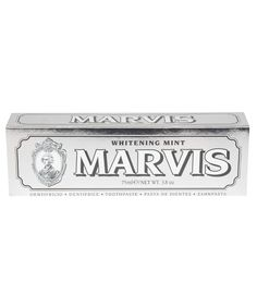 Whitening Mint Toothpaste from the Marvis collection. Whitening, Liberty, Mint, Personalized Items, Cards, Interiors, Bathroom, Washroom, Political Freedom