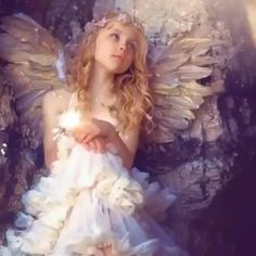 Fairy Wallpaper, Galaxy Wallpaper, I Love You Animation, Archangel Uriel, Angel Images, I Believe In Angels, My Fantasy World, Angels Among Us, Wolf Howling