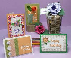 Perfect Posies Greeting Cards | FaveCrafts.com