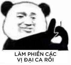 Funny Art, Funny Memes, Panda Meme, Art Memes, Big Love, Fantasy Artwork, Funny Stories, Troll, Funny Animals