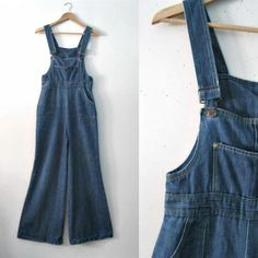 70s Bell Bottom overalls are essential to any hippie bohemian wardrobe